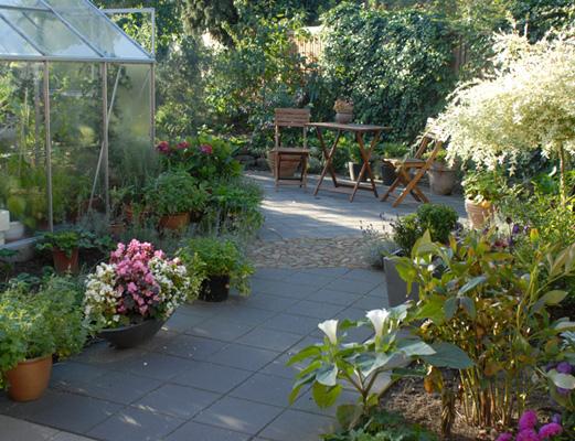 Have inspiration til små haver